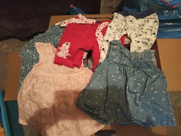 Ubranka dla dziewczynki 56-80