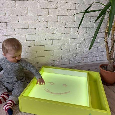 Световой планшет стол столик лего светловой песочница юнгианская