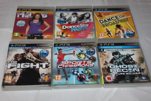 Gry na konsolę PS3 The Fight Ghost Recon Future Soldier Get Fit With M