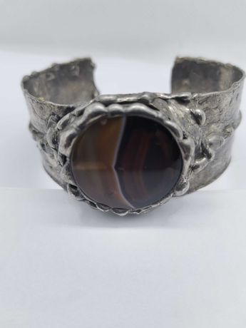 bransoletka z metaloplastyki rękodzieło Cu/Ag marka Eremit