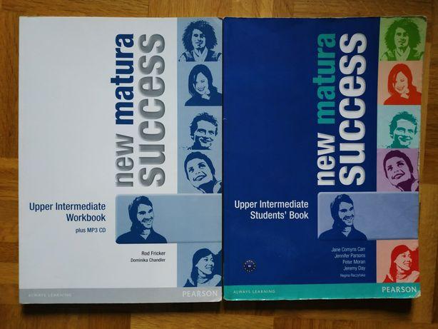 Matura Success New Upper-Intermediate  Students' book workbook PEARSON