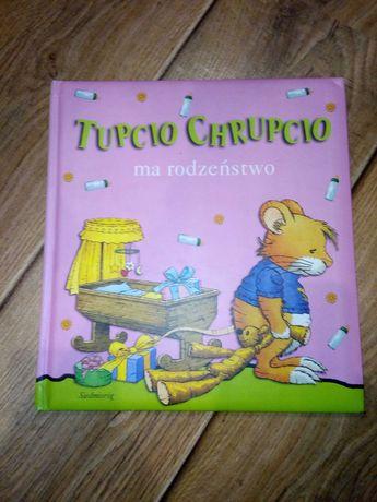 Książka Tupcio Chrupcio ma rodzeństwo siedmioróg