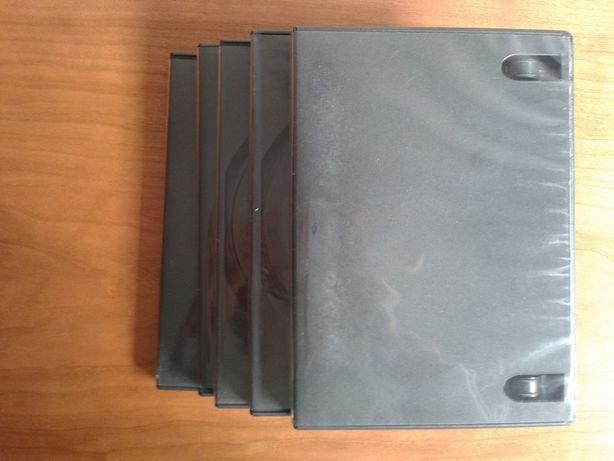 Caixas de CDs ou DVD's