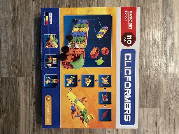 Klocki Clicformers 801004 zestaw 110 elementow