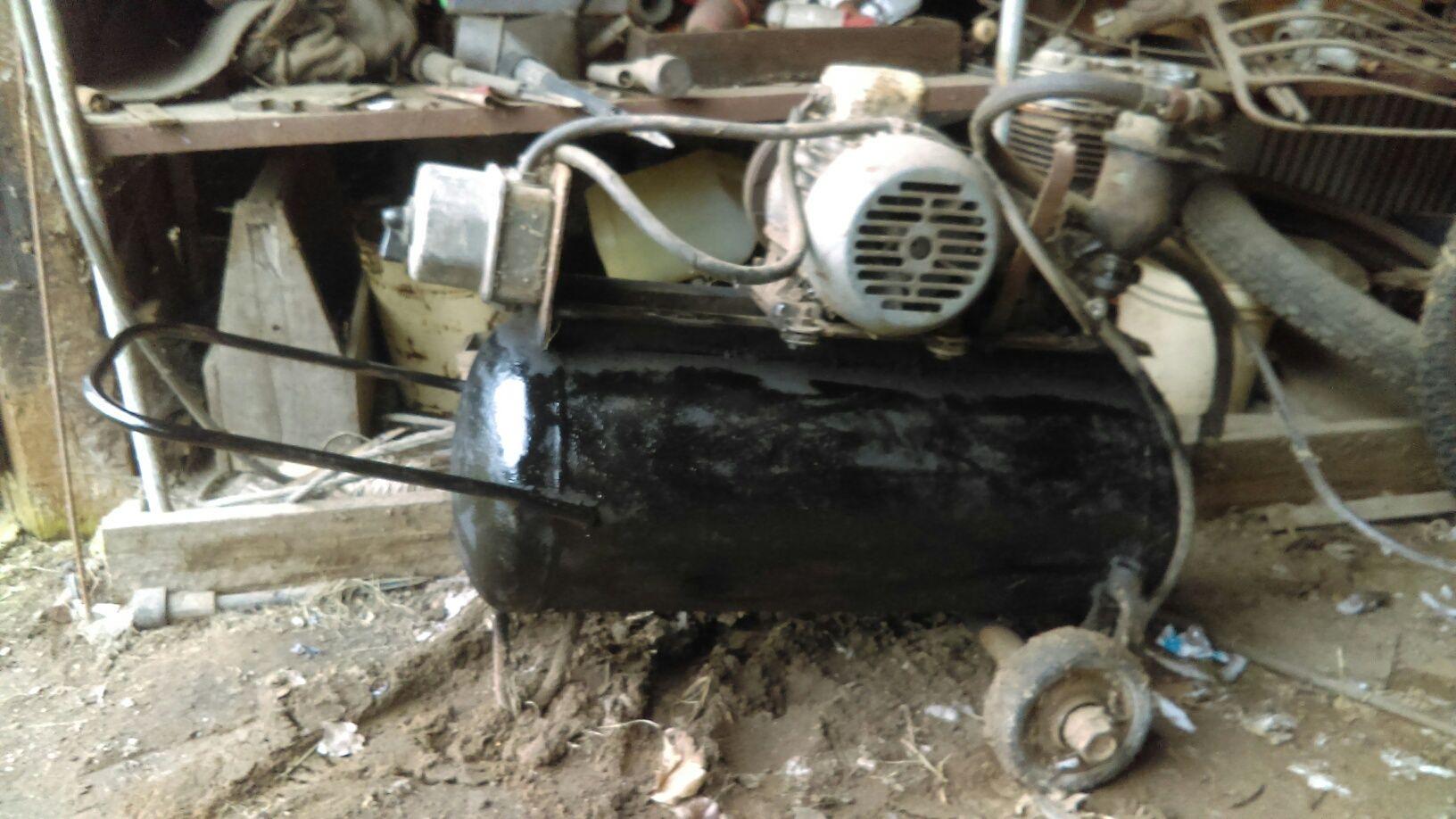 Kompresor sprężarka wiertarka stołowa