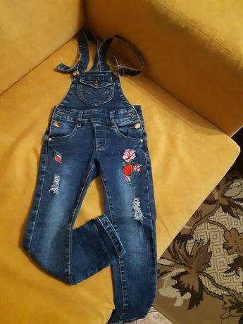 Комбинезон джинсовой