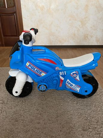 Детский мотоцикл толокар