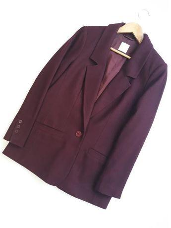 Alba Moda новый брендовый шерстяной жакет/ пиджак/ блейзер оверсайз.
