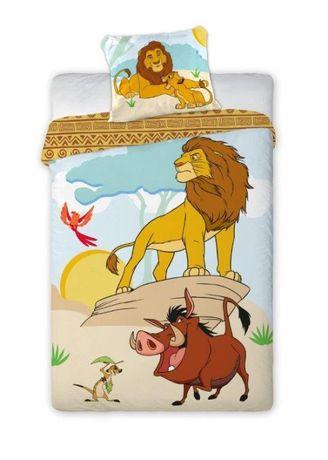 Pościel dziecięca 140x200 Król lew