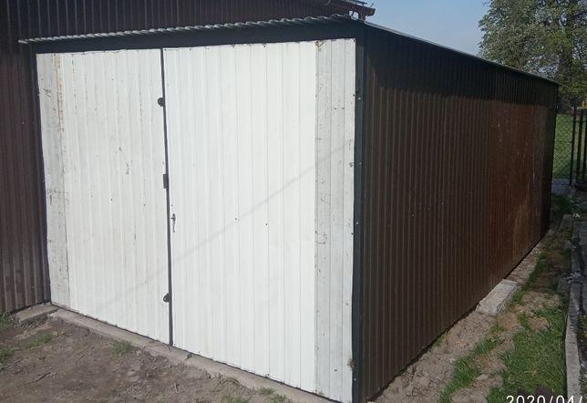 3x5 garaż w drugim gatunku blachy