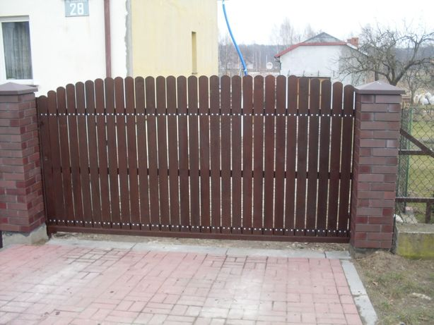 Brama ogrodzenie płot kuta nowoczesna wzór BR-5 mazowieckie