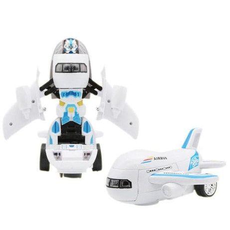 Новогодняя игрушка Робот Самолет Airbus Deformation