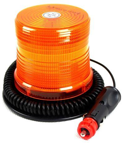 Lampa ostrzegawcza LED na magnes kogut 12/24V