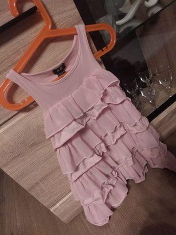 Różowa sukieneczka H&M rozm. 110/116