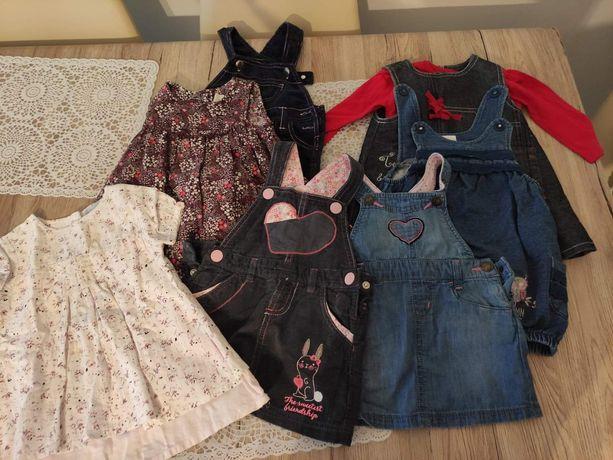 Sprzedam sukienki rozmiar 74