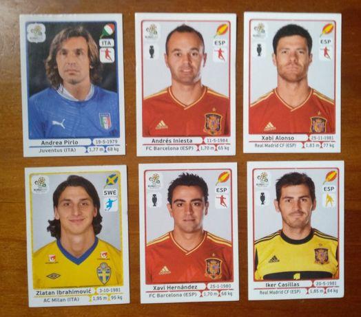 Conjunto de cromos do Euro 2012