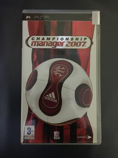 Jogo Championship Manager 2007 PSP