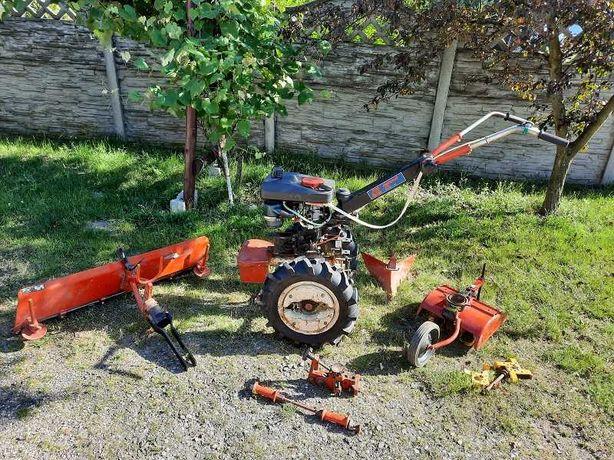 Terra Vari jak nowy traktor glebogryzarka pług ciągnik dzik