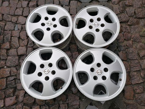 "Oryginalne felgi aluminiowe OPEL 15"" 5x110x65,1 ET 49 Astra G Vectra A"
