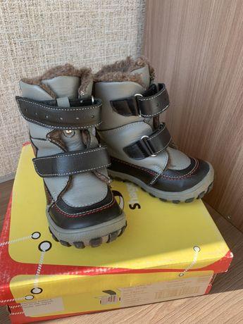 Зимові черевички на хлопчика чобітки ботіночки чоботи сапожки 22р