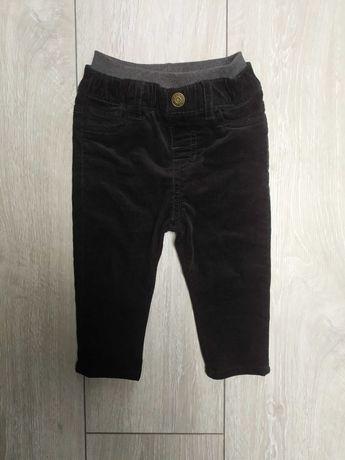 H&M 80 sztruksy spodnie sztruksowe bliźniaki dla bliźniaków igła