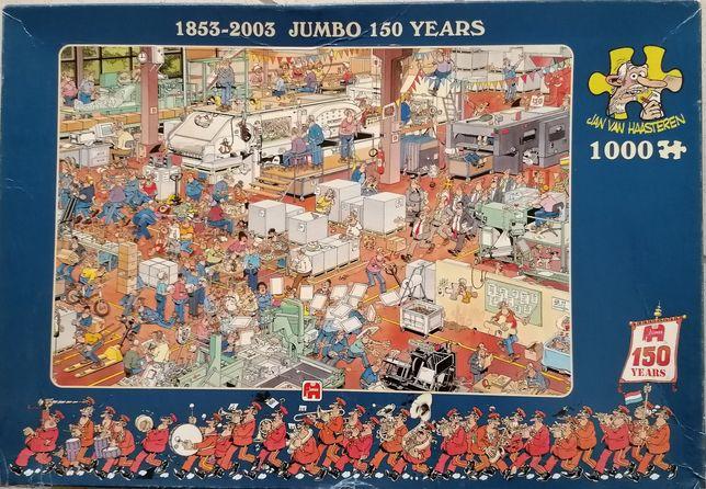 Puzzle humorystyczne Jan van Haasteren, 1000 el., kompletne