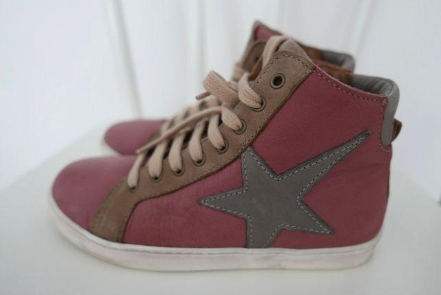 BISGAARD 32 buty skóra naturalna 21cm wygodne jak NOWE