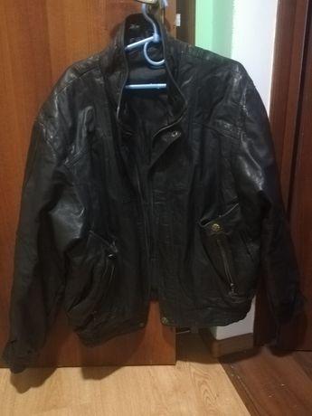 Курточка кожаная мужская