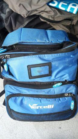 saco mochila de pesca