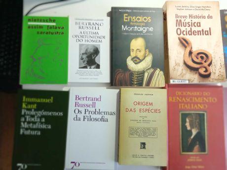 Livros de Filosofia Ciência  Historia  Musica