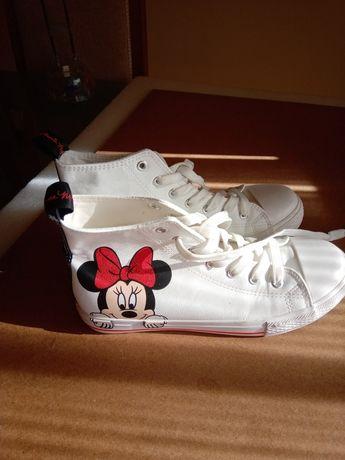 Sapatilhas bota da Minie