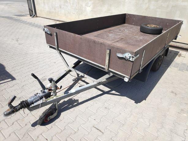 Przyczepka przyczepa VA samochodowa dwuosiowa DMC 1300kg kat B brender