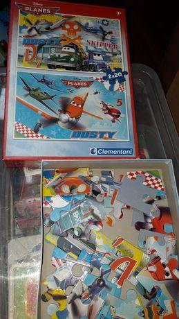Samoloty Planes puzzle duże dla młodszych dzieci