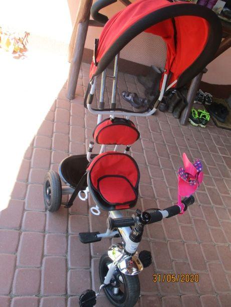 Rowerek trójkołowy Kids Trike Air, pompowane koła