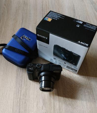 Aparat Sony DSC-HX50 + statyw Camrock TC63
