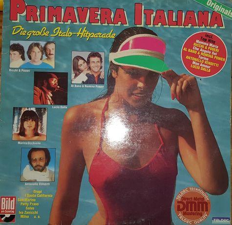 Disco Vinil «Primavera Italiana»