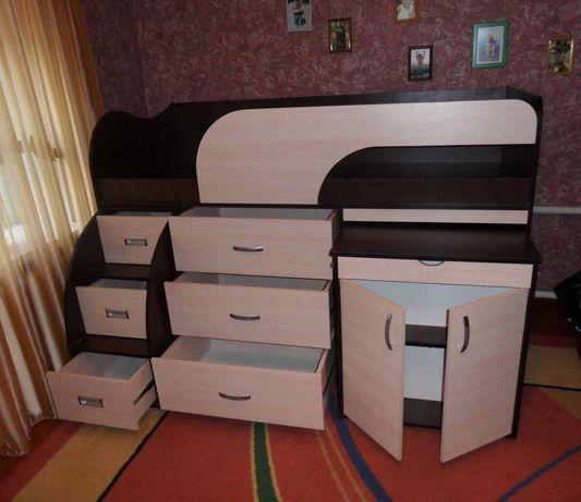 Детская мебель, кровать-чердак