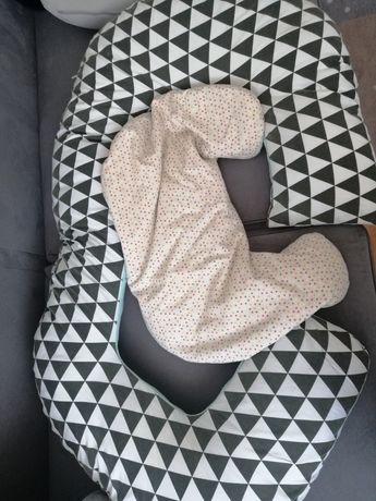 Poduszka dla kobiet w ciąży i mała do karmienia