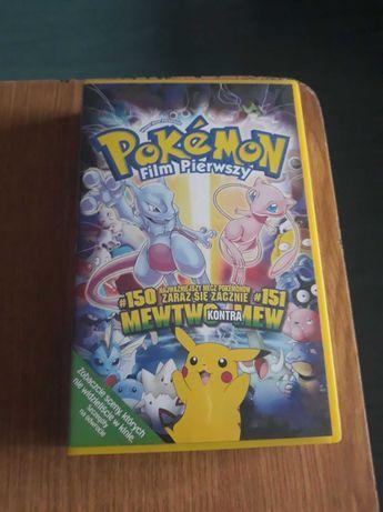 Pokemon film pierwszy, kaseta VHS, stan bardzo dobry