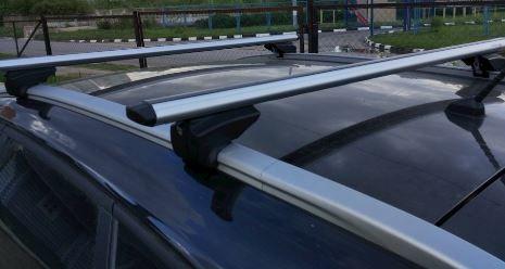 Bagażnik belki na relingi zintegrowane Audi Opel BMW VW Ford Mitsubis