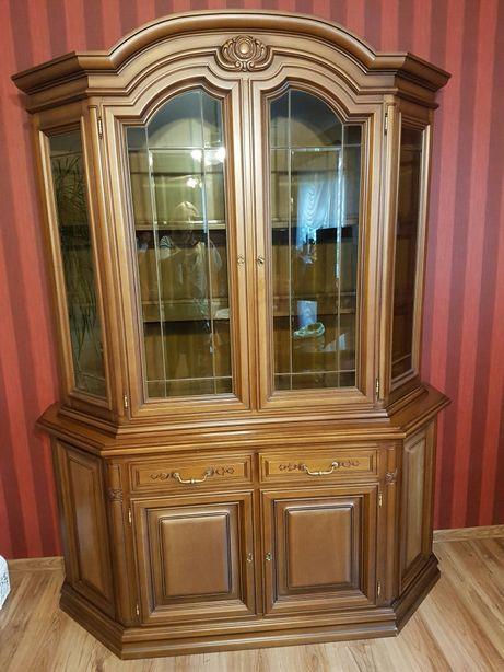 Witryna antyk barok kredens komoda biblioteczka jak nowa Ludwikowski