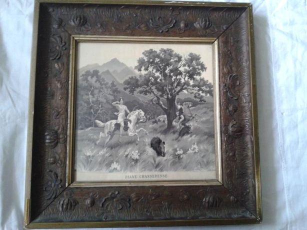 Гобелен-ткацкая картина с редким оригинальным сюжетом