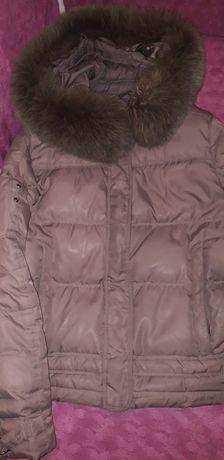Куртка пуховик натуральный