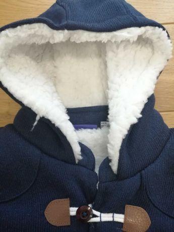 Sweter chłopięcy bardzo gruby rozmiar 74-80