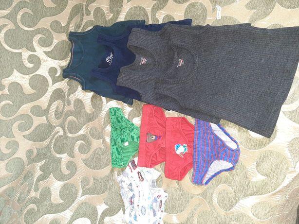 Трусики,майка,белье для мальчика