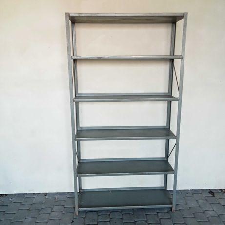 Regał metalowy garażowy  190x100x35