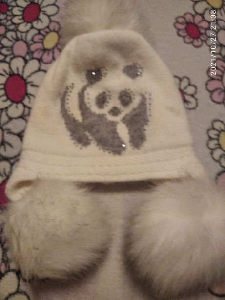 Шапка для девочки , супер шапка
