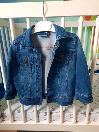 Katana, kurtka jeansowa niemowlęca, rozmiar 80