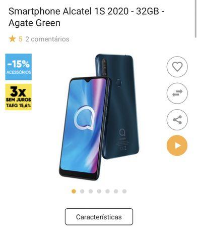Smartphone Alcatel 1S 2020 - 32GB - Agate Green
