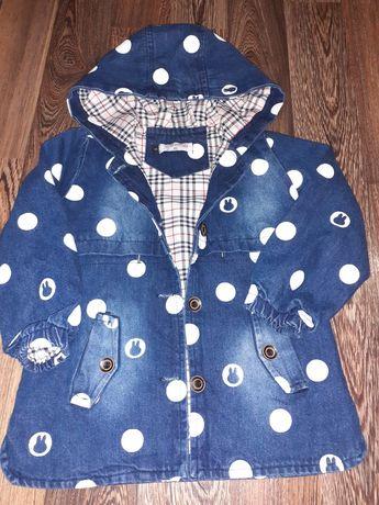 Джинсовка,ветровка,куртка 98-110